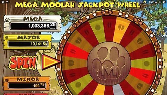Mega Moolah Progressive Jackpots