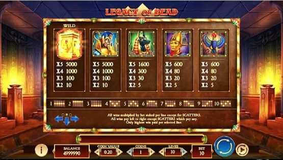 The Free Spins – 3 Or More Wild Scatter