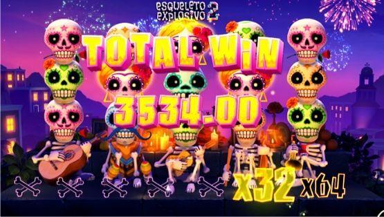 Esqueleto Explosivo 2 - Bonus Game Outro