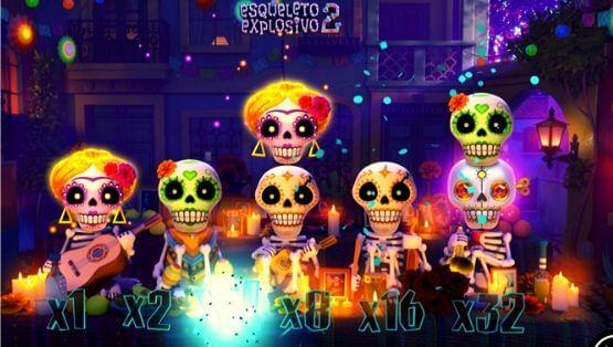 Esqueleto Explosivo 2 Features